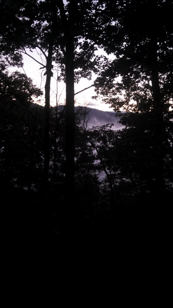 "View of the early morning from the ""Smoky Mountains"".  All who wander are not lost..."